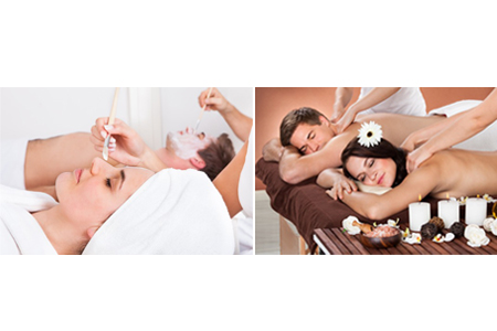 Formules massage, gommage, soin du visage et soins des mains et pieds
